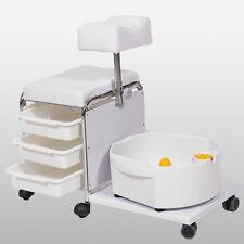 Fußpflegestuhl Fußpflege Pedikürstuhl Fußsprudelbad elektrisch Fußmassage Wanne