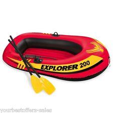 Intex Explorer 200 Boat Sets Boat Oars Mini Air Pump 2 Person Inflatable Boat