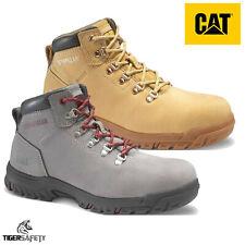Caterpillar CAT Kitson S1 SRC Ladies Honey Nubuck Steel Toe Cap Safety Boots PPE