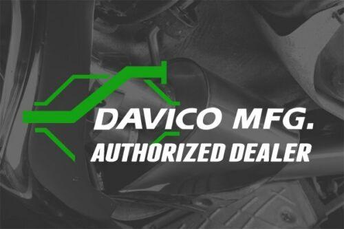 For Honda Accord 1998-2002 Davico 828554 Center Exhaust Muffler /& Pipe Assembly