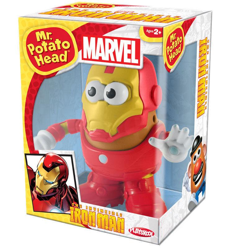 Marvel Iron Man Mr Potato Head NEU tolles Geschenk 2 + Playskool