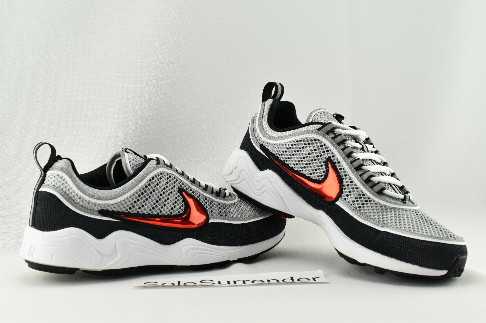 Nike Air Zoom Spirison '16 - CHOOSE SIZE - 849776-001 Lab NikeLab Grey Black Red