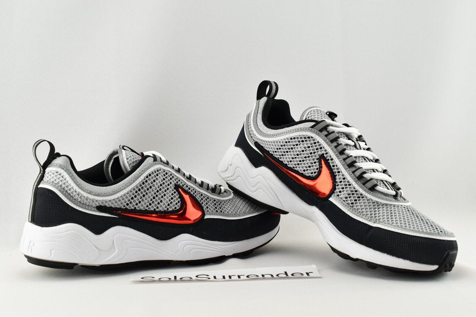 Nike Nike Nike Air Zoom spirison '16 Elige tamaño 849776-001 Lab nikelab gris negro rojo gran descuento 36eb36