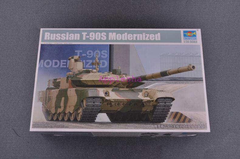 Trumpeter 05549 1 35 Russian T-90S Mobernized