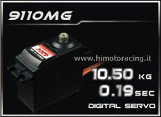 HD-9110MG Servo Digitale 10.5kg energia HD 9110MG con ingranaggi in  mettuttio  per il commercio all'ingrosso