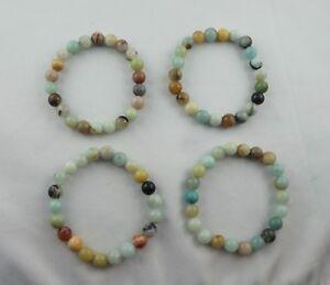 AMAZONIT-multicolor-Armband-ca-19-cm-Stretcharmband-8-mm-Perlen-Edelstein