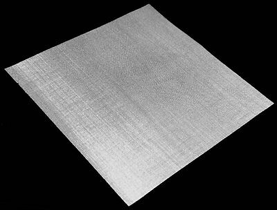 Stainless Steel 304L 2mm Hole Size 10 Mesh Count Woven Wire Mesh by Inoxia Cut Size: 60cm x 120cm