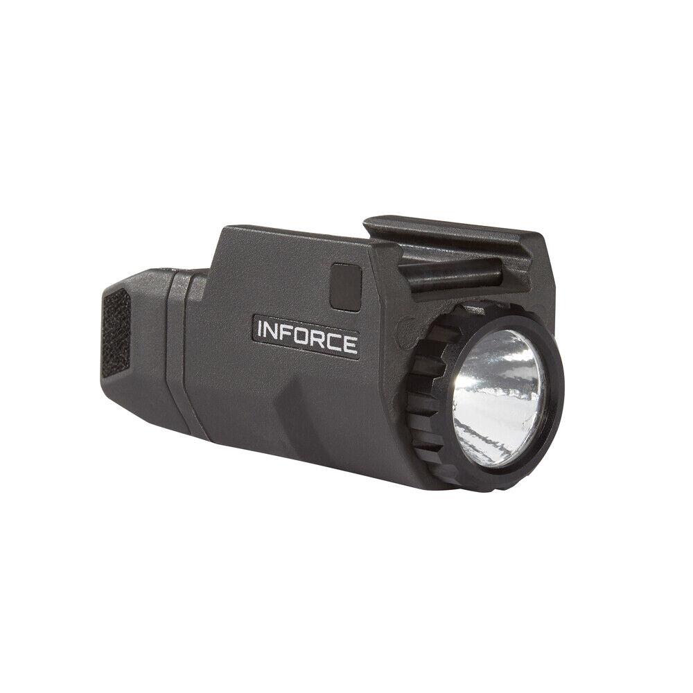 nuevo  pistola de luz LED compacto Inforce APLc GEN 1 Glock Compacto Negro ACG-05-01
