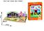 miniatura 23 - Puzzle 3D Natale fai da te casa modello assemblaggio carta Toy Cartoon Home Puzzle UK