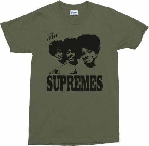 Various Colours The Supremes T-Shirt Soul Legends
