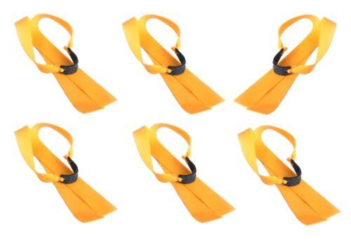 Recambio de goma plana Slingshot sustituto de goma sportschleuder futterschleuder 700