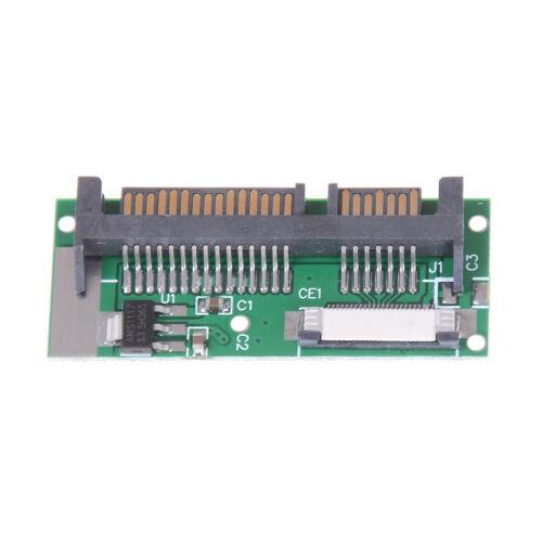 """1.8/"""" 24 Pin SATA LIF HDD To Mini 7+15 Pin 22 Pin Male SATA Adapter Converter EC"""