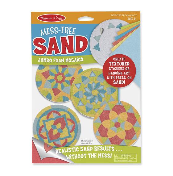 Melissa & Doug - Mess-Free Sand - Foam Stickers - Mandala