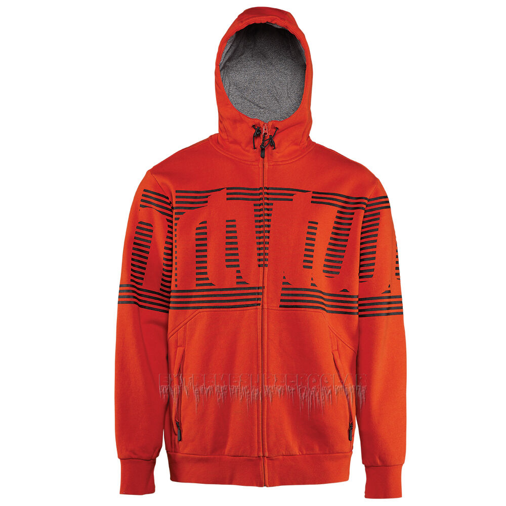 THIRTYTWO thirty-two 2015 Mens Snowboard Snow Red STAMPED ZIP FLEECE HOODIE