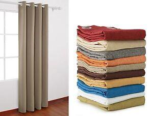 Tende In Tessuto Pesante : Tenda canapone pesante coprente tessuto grezzo cm 140x290 per