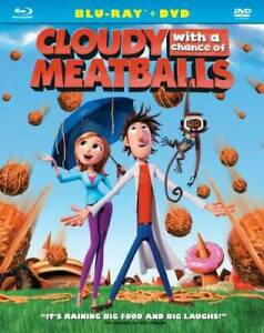 Cloudy with a Chance of Meatballs (Two-Disc Blu-ray/DVD Comb - VERY GOOD