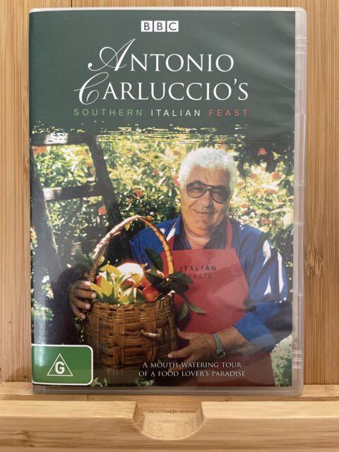 Antonio Carluccio's Southern Italian Feast region 4 DVD (2 discs) food / travel