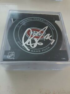 Ryan-Poehling-Signed-Autographed-Montreal-Canadiens-Official-Game-Puck