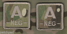 """RANGER FORCE RECON SEAL OPERATOR BLOOD-TYPE 2"""" vel©®��⚙ 2-TAB MULTICAM: A NEG -"""
