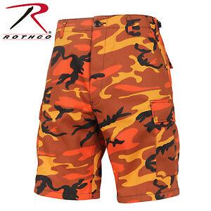 Image is loading Men-039-s-Savage-Orange-Camo-BDU-Tactical- 722c1138810