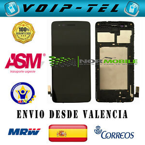 PANTALLA COMPLETA con MARCO LG K8 2017 M200 - M200N - MS210 - M210 LCD DISPLAY DD9H6BBe-07151642-577372770
