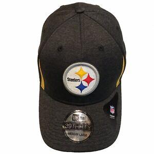 New Era 39Thirty Cap Training Pittsburgh Steelers