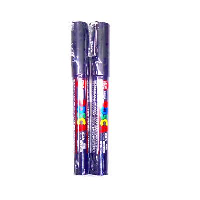 Komainu-Dou O 3 pens per Pack Uni Posca Paint Marker PC-1M Black Japan Import