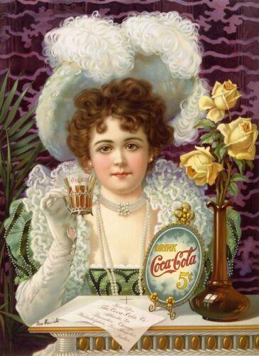 HQ Poster Maxi DRINK COCA-COLA 1900 Riproduzione fino a 70x100 cm