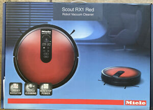 Miele-Scout-RX1-Robotic-Vacuum-Cleaner-Red-Brand-New