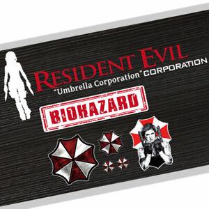Biohazard-Car-Stickers-Vinyl-Resident-Evil-Decal-Pack-Decals-Alice-Window-Bumper