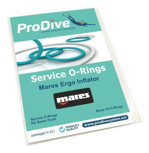 Mares Ergo Pover Inflator BCD Service Replacement O-ring Kit