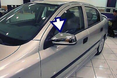 1998-2004 Ajuste Opel Opel Astra G Funda De Cromo Espejado 2 un Acero Inoxidable De Acero