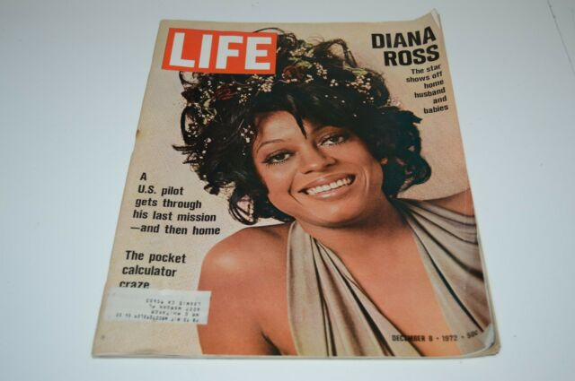 WOW Nice Vintage LIFE Magazine Diana Ross Pop Star December 8 1972 HTF