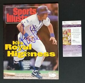 George-Brett-Signed-Magazine-Sports-Illustrated-Royals-October-1992-JSA-COA