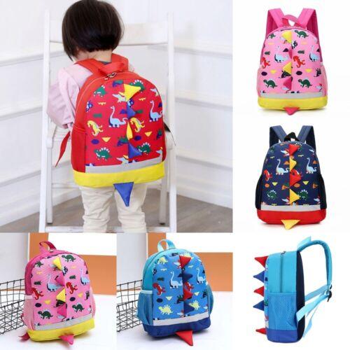 New Children Kids Dinosaur Backpack School Bag Rucksack Kindergarten Boys Girls