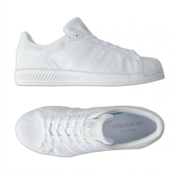 Adidas Original Superstar Bounce Bounce Bounce S82236 Athletic Sneakers shoes White e5fa21