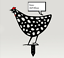 Indexbild 5 - Chicken Yard Art Garden Metal Statue Decor 2021