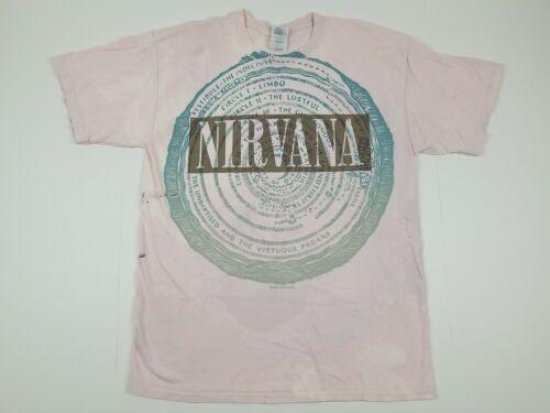 Nirvana Vestibule 2003 T Shirt Size Large L Pink C