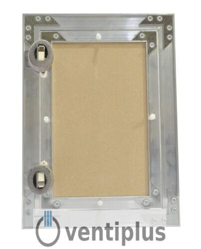 Revisionsklappe Aluminium-Rahmen 12,5 mm GK-Einlage Gipskarton Revisionstür