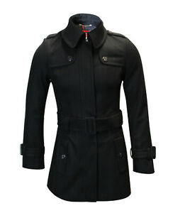 BRAND-NEW-MEN-039-S-EDC-THICK-WOOLEN-STAND-COLLAR-WINTER-PEACOAT-MRP-135