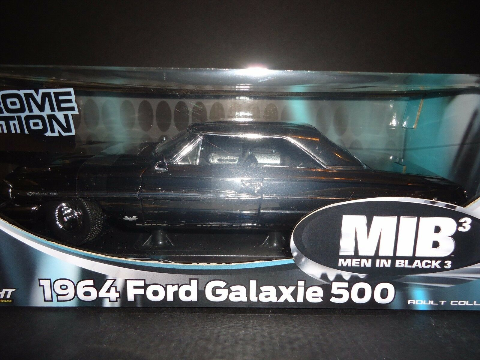 Greenlight Ford Galaxie 500 1964 MIBIII Chrome 1 18 Limited Edition