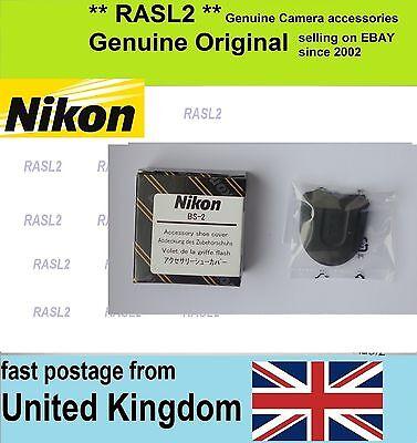 Genuino Original Genuino Nikon BS-2 Tapa de Zapata Cubierta D500 D600 D700 D800 D5100