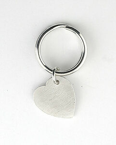 Heart-Key-Ring-Sterling-Silver-Made-To-Order-in-Jewellery-Quarter-B-039-ham