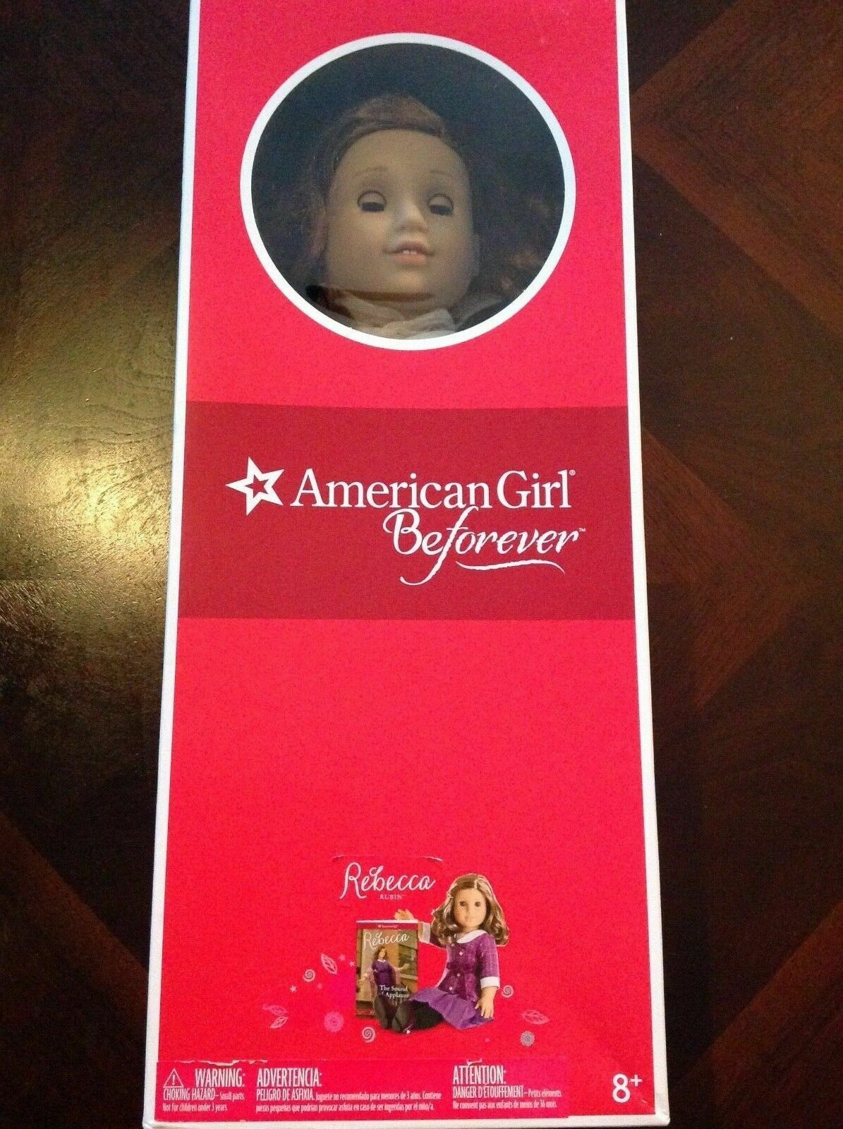 BRAND NEW 18  AMERICAN GIRL DOLL REBECCA BeFOREVER