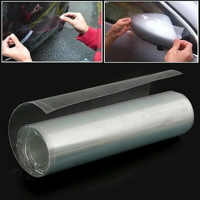 1x Transparent Vehicle Paint Protection Vinyl Film Sticker 15x300cm Triple Layer