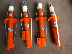 Fiat-Bertone-X1-9-X19-Set-of-4-Top-Adjustable-Suspension-Strut-Shock-Absorbers