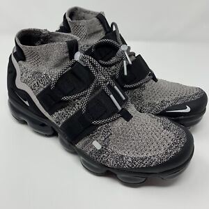 wholesale dealer 12a4a fa020 Details about Nike Air VaporMax Flyknit Utility Oreo Particle Black Mens  Size 9.5 AH6834-201