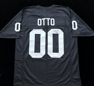 Jim Otto Signed Autographed Football Jersey JSA COA Oakland Raiders Great