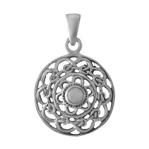 Brand new wholesale celtic knot mother of pearl 925 sterling silver image is loading brand new wholesale celtic knot mother of pearl aloadofball Images
