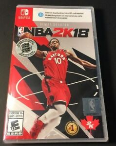 Image is loading NBA-2K18-Bonus-Edition-Demar-Derozan-Cover-Nintendo-